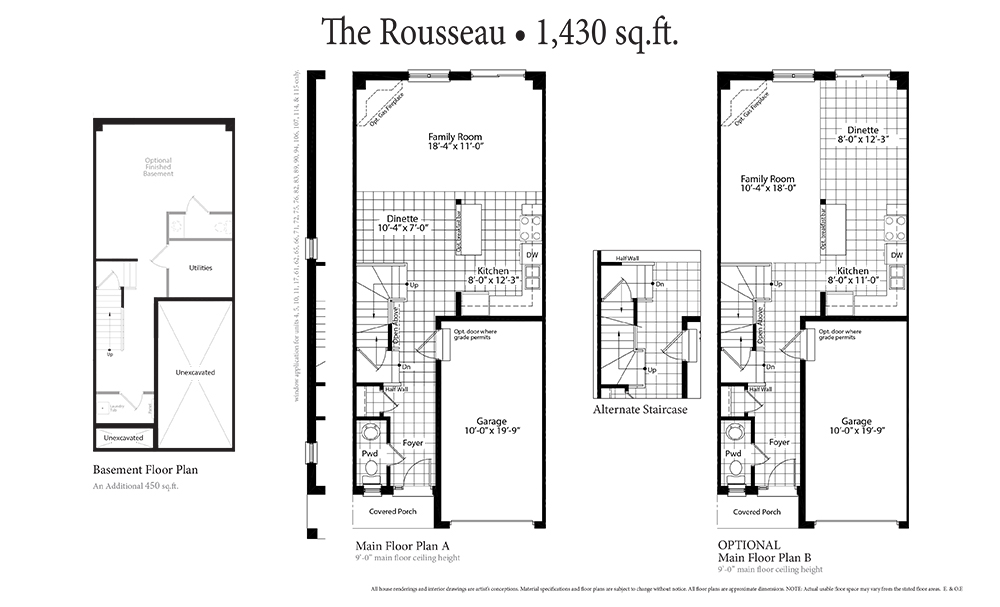 The Rousseau Main Floor
