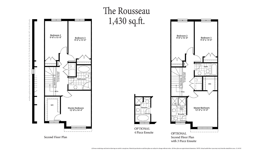 The Rousseau Second Floor