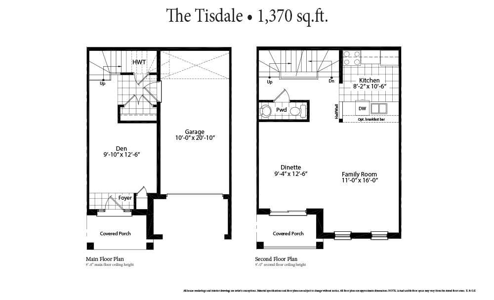 The Tisdale Main Floor