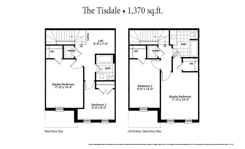 The Tisdale Second Floor
