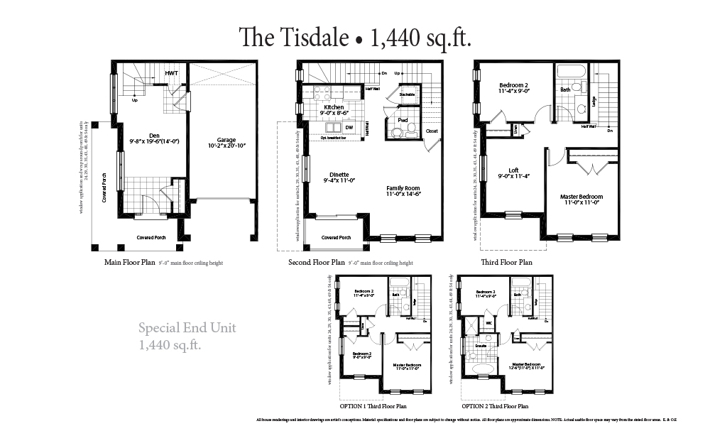 The Tisdale Special Units